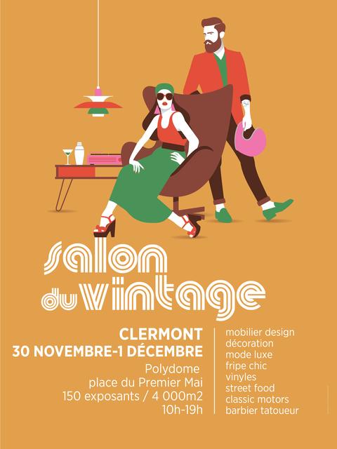 Salon du Vintage Clermont-Ferrand 2019